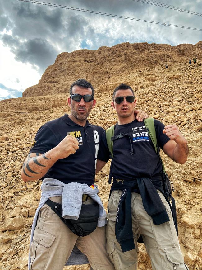 Delta Krav Maga en Israel